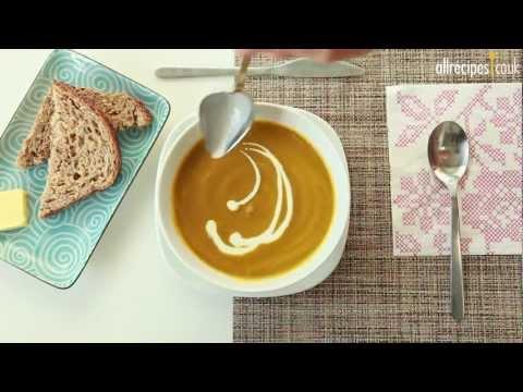 Carrot And Fresh Coriander Soup Recipe - Allrecipes.co.uk