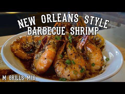 barbecued shrimp   cajun style