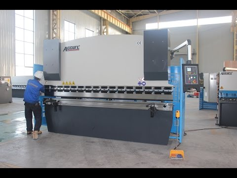 New Accurl 125T Sheet Metal Bending Machine 6mm,Hydraulic Press Brake WC67Y-125T 3200 for China