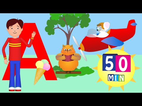 A is for Airplane and much more  (50 minutes HD)