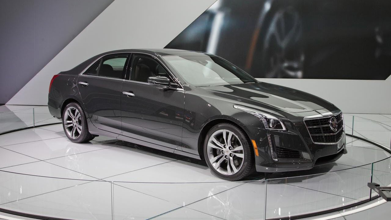 2014 Cadillac Cts Up Close 2013 New York Auto Show
