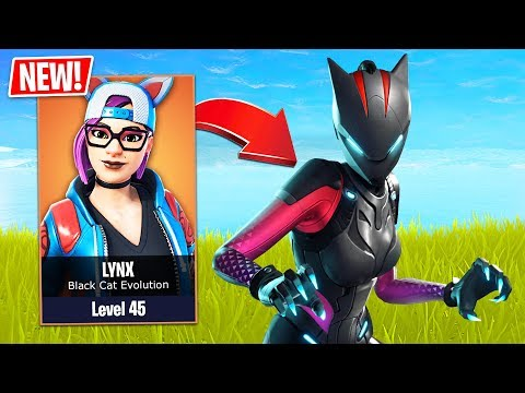 SEASON 7 *NEW* LYNX STAGE 3 EVOLUTION!! (Fortnite Live Gameplay)