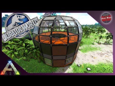 JURASSIC WORLD AVIARY, A GIANT BIRD CAGE | ARK SURVIVAL EVOLVED [JURASSIC PARK MOD EP11]