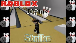 PLAYING BOWLING IN ROBLOX! (Roblox RoBowling)
