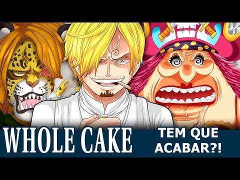 WHOLE CAKE TEM QUE ACABAR?!
