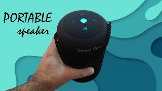 Sound One Drum Portable Bluetooth Speaker with FM, TF card, USB connectivity options