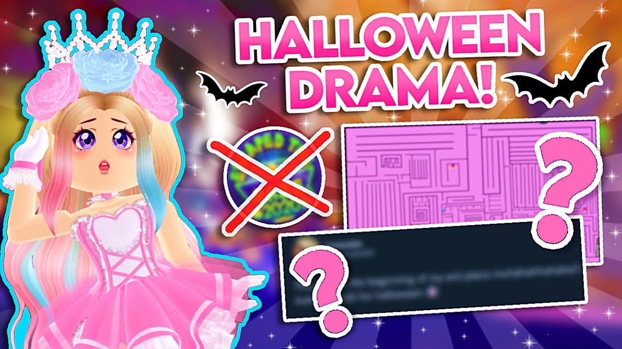 ROYALE HIGH Halloween Update 2021 MAZE CONTROVERSY! 🎃 Royale High Halloween Maze Tea and Drama