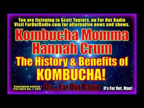 Hannah Crum: Drink Your Way To Intestinal Health With KOMBUCHA! On FarOutRadio 1-22-13