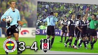 Fenerbahçe 3-4 Beşiktaş Kadıköy Panteri Pancu 2005 Maç Özeti