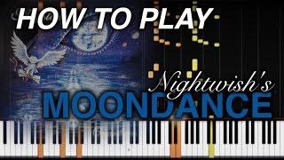 MOONDANCE - Nightwish Keyboard Tutorial