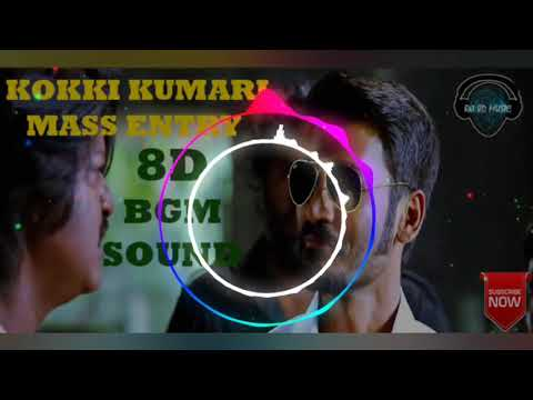 Kokki Kumaru Theme | 8D Audio |Dhanush| Vai Raja Vai |  | Yuvan Shankar Raja