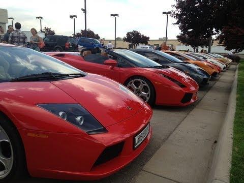 Lamborghini of Denver Grand Opening