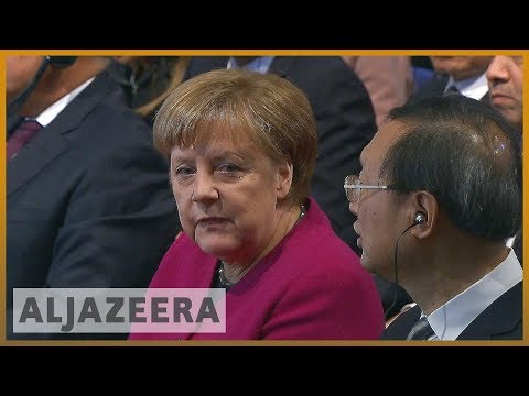 🇩🇪 Merkel, Pence clash on Iran deal at Munich conference | Al Jazeera English