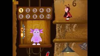 Лунтик Учит Цифры:  Лифт. Учим Цифры до 10. Обучающая Мультик-Игра для маленьких детей
