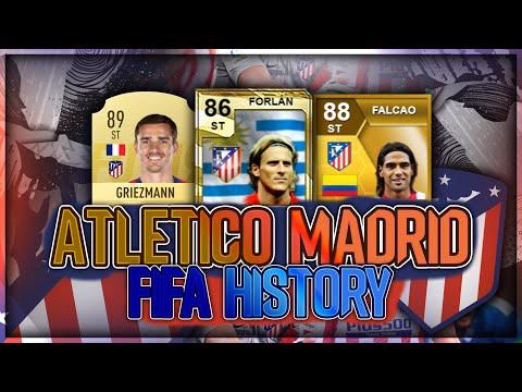 ATLETICO MADRID FIFA UTLIMATE TEAM HISTORY!! FT. FORLAN, GRIEZMANN, FALCAO ETC... (FIFA 20)
