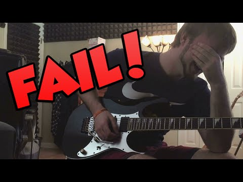 Epic Guitar Fail...