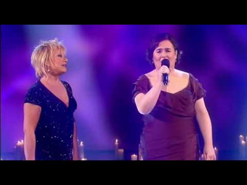 Susan Boyle performs Duet with Elaine Paige (13th / Dec / 09)