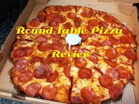Round Table Pizza Review YouTube - Round table delivery near me