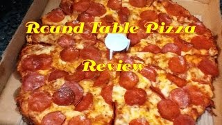 """Hey back with a video review of """"Round Table Pizza"""" well thank you ..."""