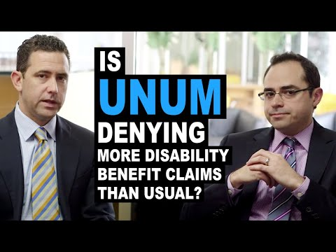 Is Unum Denying More Disability Benefit Claims Than Usual?