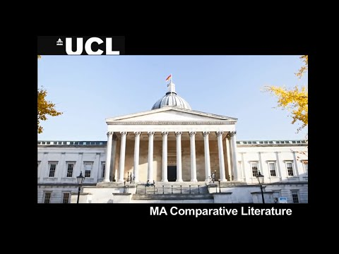 UCL Comparative Literature MA
