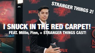 STRANGER THINGS 2 RED CARPET! (ft. Millie Bobby, Finn Wolfhard, + FULL CAST)