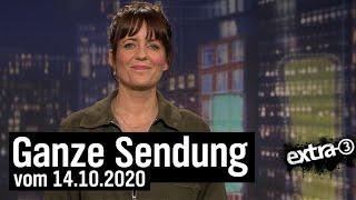Extra 3 vom 14.10.2020 mit Sarah Kuttner