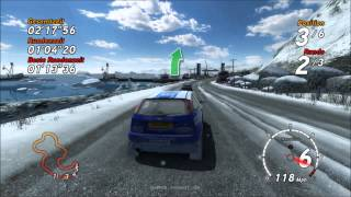 Sega Rally Revo: Ford Focus RS / Arctic 2 / PC Gameplay