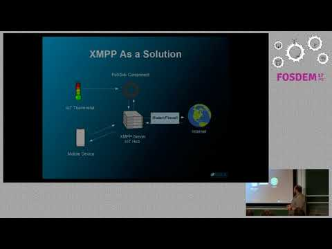 Using XMPP to Connect and secure the world of IoT XMPP backed IoT