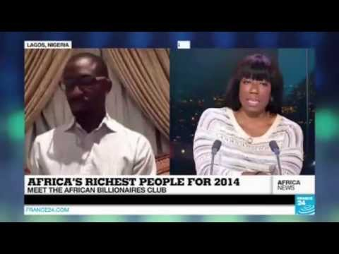 "CEO of Ventures Africa discusses ""The Richest People in Africa"" on France 24 TV Network"