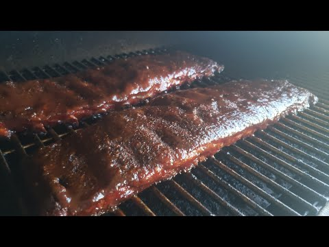 How to BBQ Ribs Smoked On A Pellet Grill - REC TEC