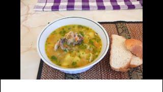 Суп куриный со звездочками