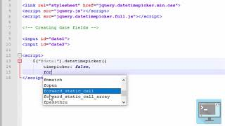 Calculate difference between 2 dates - jQuery datetime picker