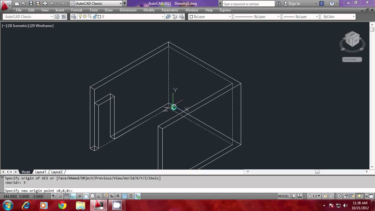 Autocad For Kitchen Design Modeling A Kitchen Using Autocad Part1 Youtube