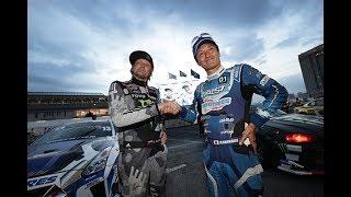 Гоча и Аркаша на соревнованиях по дрифту  FIA Intercontinental Drifting Cup 2017 в Токио.