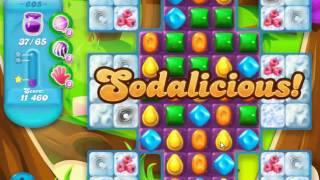 Candy Crush Soda Saga - Level 605 (No boosters)