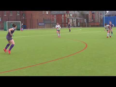 Liverpool Sefton Hockey W1 vs Durham uni HC (10 March 2018) - part 1