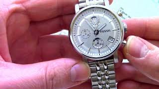 Часы Fossil ES2198 - видео обзор от PresidentWatches.Ru