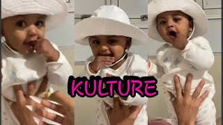 Cardi B & Offset's Baby Girl Kulture At It AGAIN