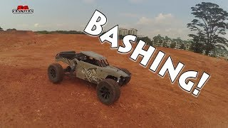 RC offroad bashing trucking adventures