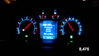 Chevrolet Orlando 1.8 AT Acceleration 0-100 km/h  (Measured  by Racelogic)