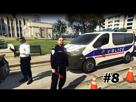 GTA V - LSPDFR 0.3.1 - Reprise de service pour la Police Nationale #8 - FR
