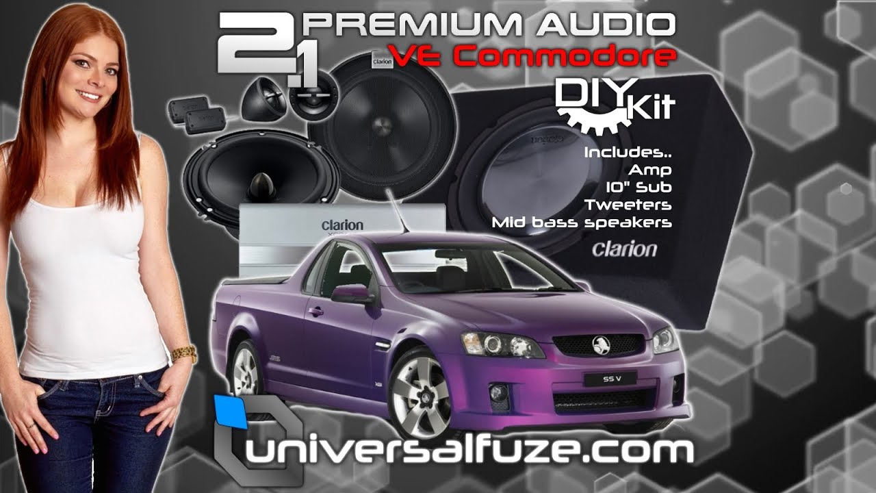 hight resolution of how to install a subwoofer in a ve commodore