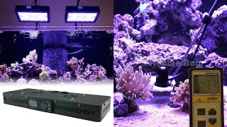 euphotica lite 16 dimmable full color spectrum saltwater led aquarium coral fish tank grow light