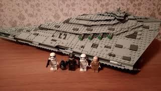 Обзор Лего 75190 Звёздный Разрушитель первого ордена