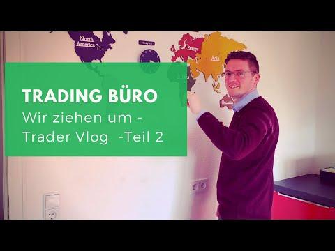 Trader Vlog: Neues Trading Büro (Teil 2) + Newstrading mit Tweetdeck