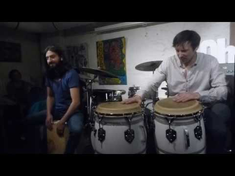 The Oh!chestra feat.Salar Baygan live - ChaCha - 06.04.2017 - Club Voltaire - Frankfurt