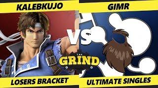 Smash Ultimate Tournament - VGBC | GimR (Game & Watch) Vs. KalebKujo (Richter) The Grind 55 SSBU