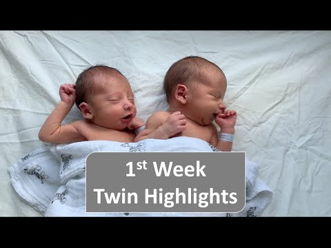 1st Week Twin Highlights