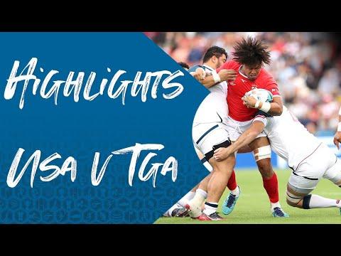 Highlights: USA 19-31 Tonga - Rugby World Cup 2019